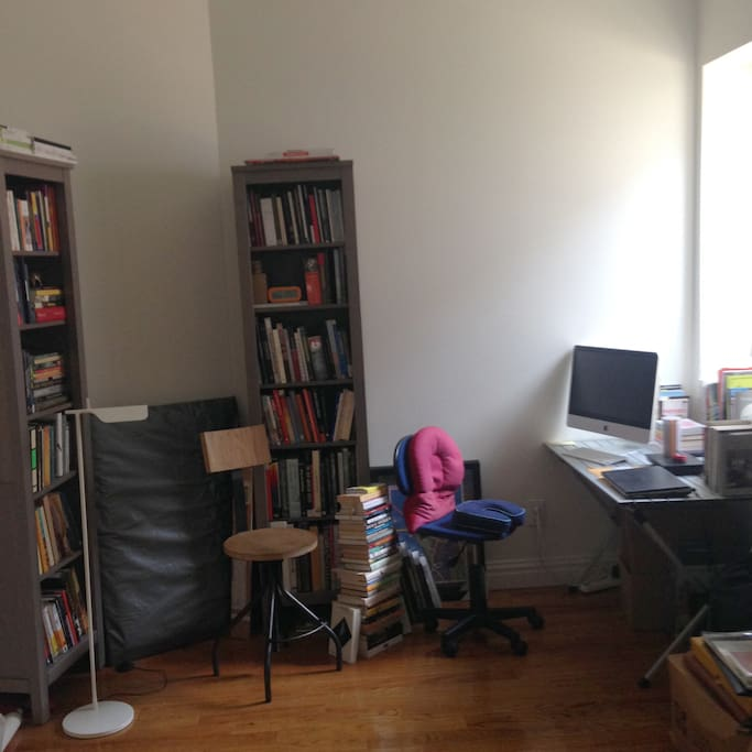 2nd Room with books and worktable