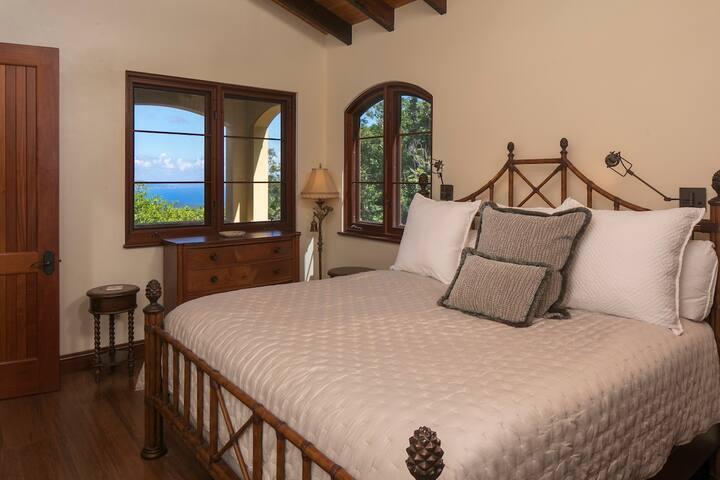 Bedroom 2, king bed.