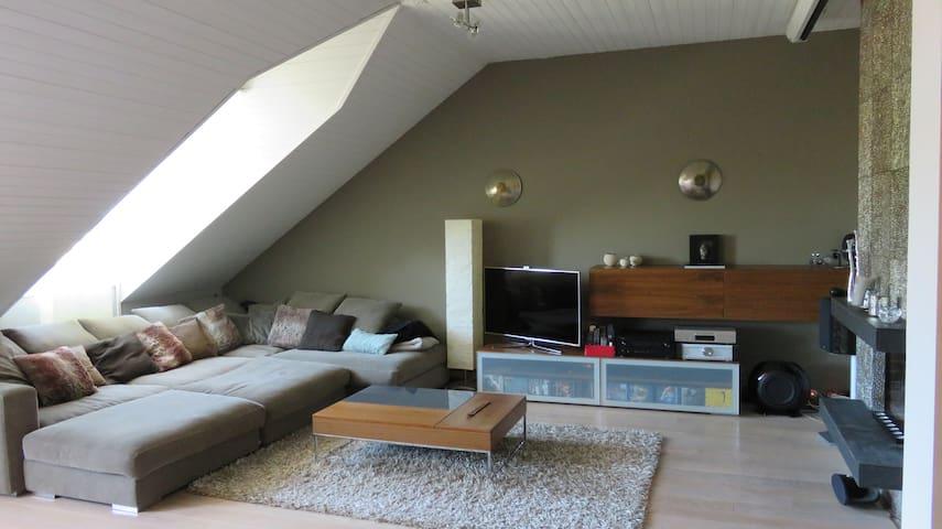 Cosy Modern Apartment - Good Vibes - Corsier