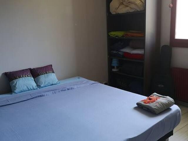 Belle chambre près du centre de Genève en Tram