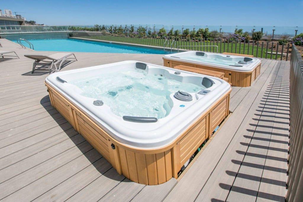hot tubs al aire libre