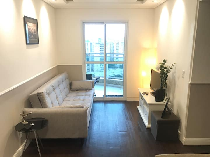 Beautiful apartment on 15 floor near GRU airport