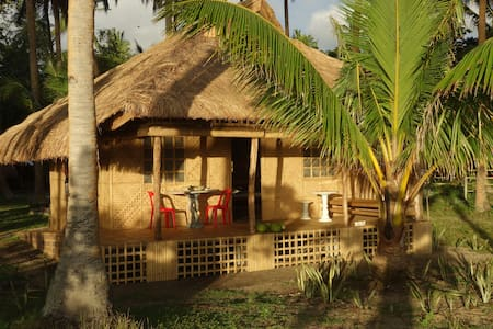 Natural & luxurious hut by the sea - Romblon