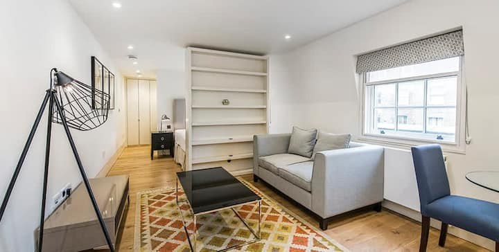 Beautiful, spacious Studio close to Buckingham Palace. Exclusive Belgravia Pad!