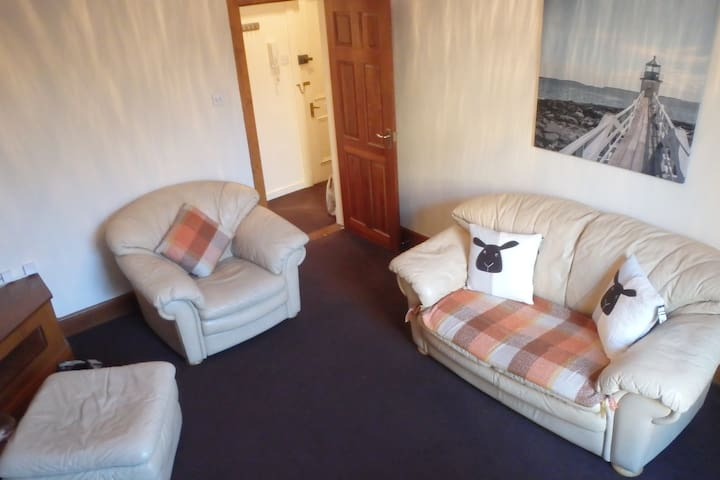 Central one bedroom apartment - Aberdeen - Apartamento