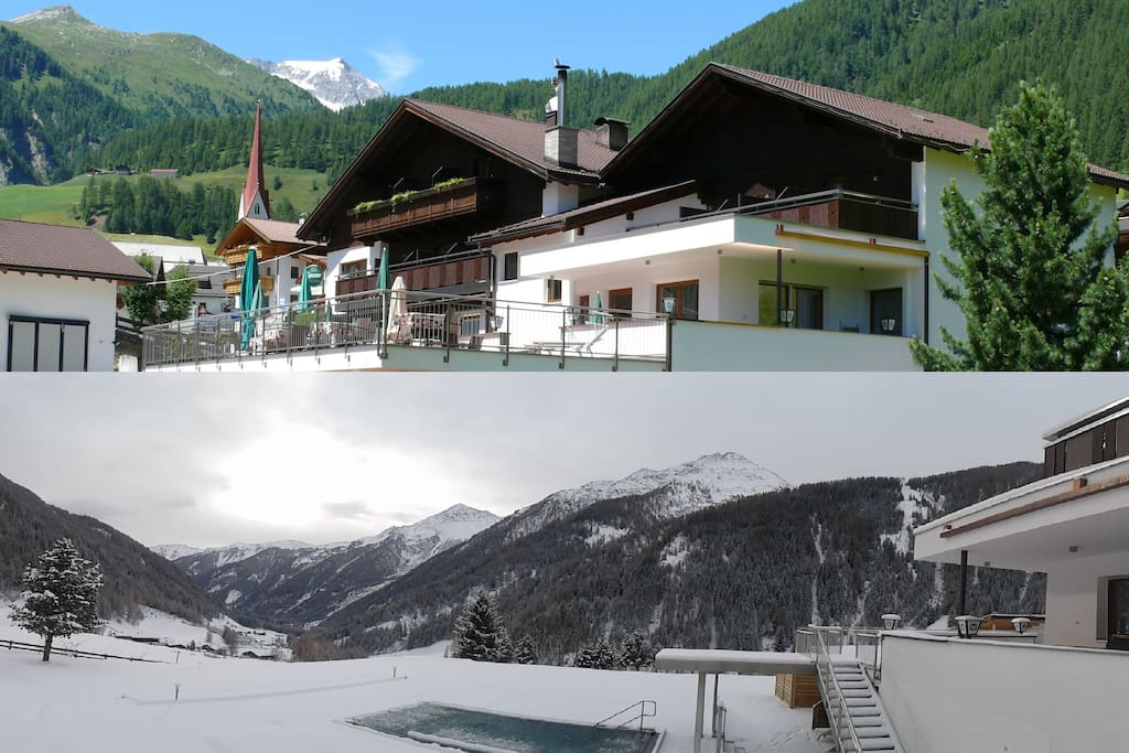 Apart hotel knoll lappach s dtirol appart 39 h tels for Louer appart hotel