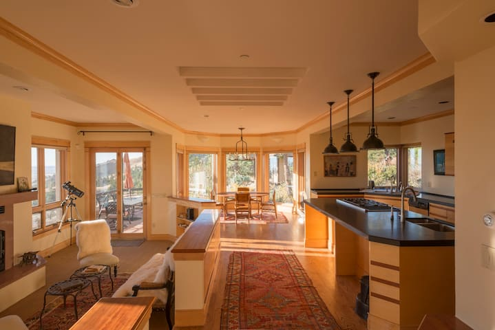 Kitchen, Breakfast Nook and Family Room