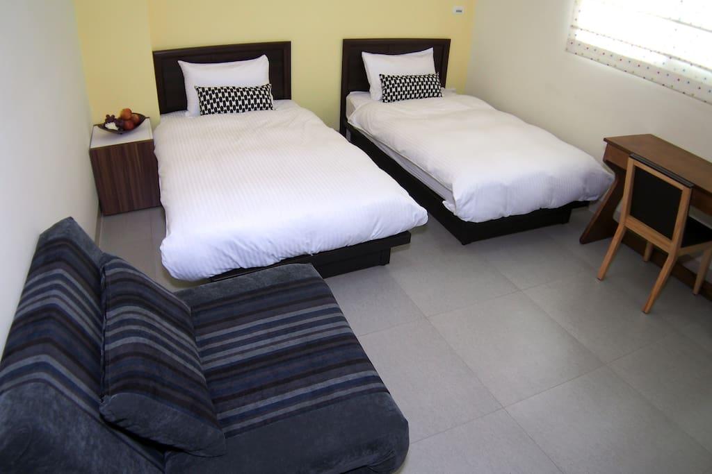 1+1雙人房 沉澱心情及抒放壓力的休旅空間