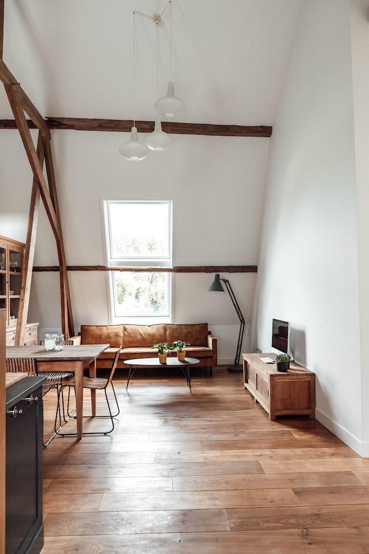 Ruim, sfeervol appartement