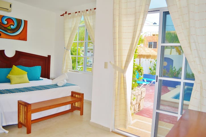 Beautiful Suite by the Ocean. Corales B - 2BR