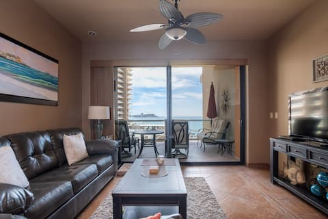 ¡Las Palomas Resort Phase II 2do piso frente al mar!