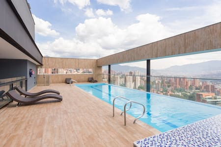 Luxury Apartment Poblado Medellin, best city view