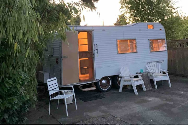 Comfy&Peaceful Oasis, 1965 Terry Travel Trailer