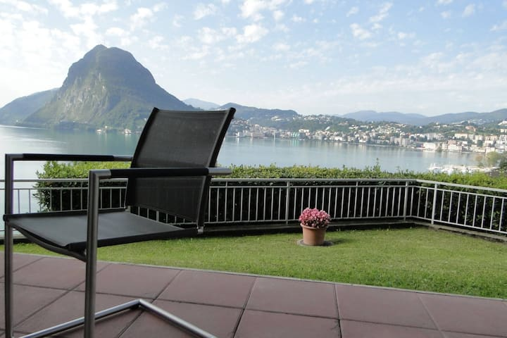 Lugano with Panorama - Lugano - Daire