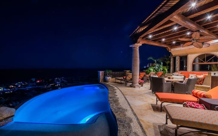 Villa Deseo - Infiniti Pool, Hot Tub, Indoor Waterfall & Unobstructed Ocean Views