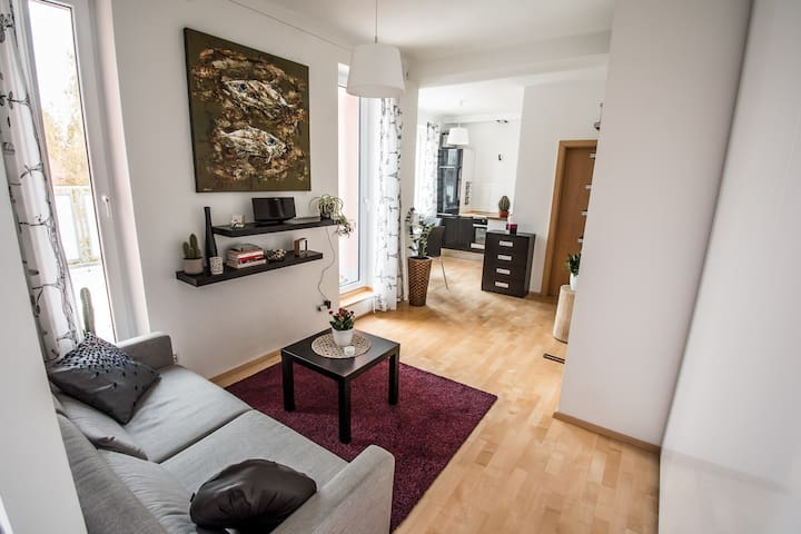 Cosy bright apartment with terrace - Prague - Apartment