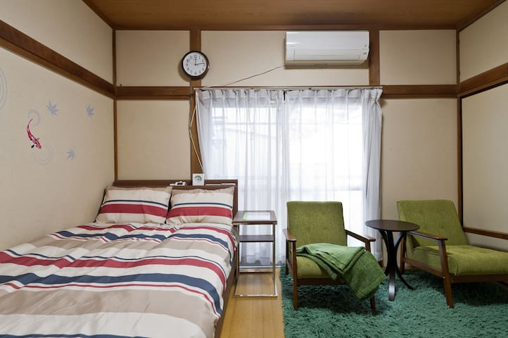 Traditional house 2 min from Tabata station - 北区 - Apartment