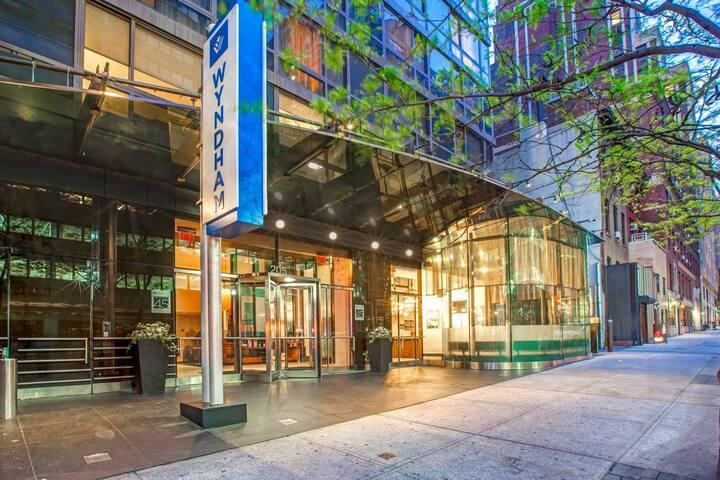 Wyndham Midtown 45, 1 Bdrm, 3 nts,  New Years-NYC
