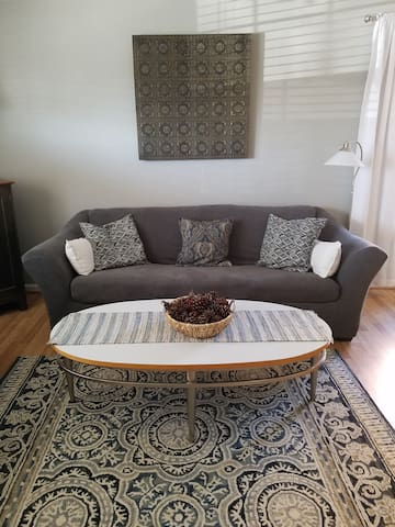 A comfortable spot for you to come stay in our lovely townhouse  in downtown Greenville located in the historic  Heritage neighborhood 1 block from Main Street.