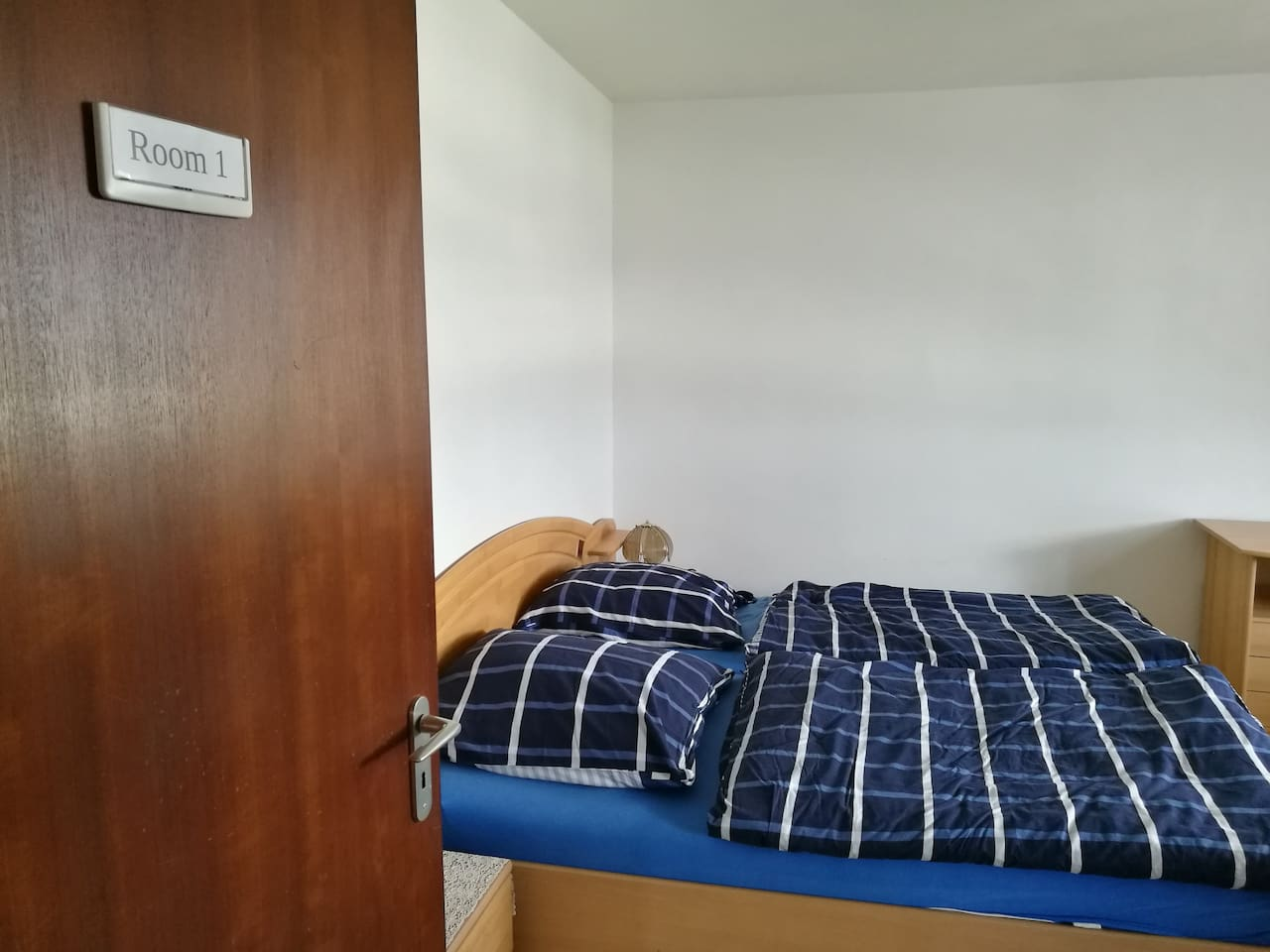 Welcome to your new bedroom in Nürnberg