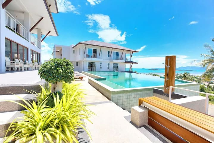 Stunning Sea View Studio Koh Samui, Pool&Fitness