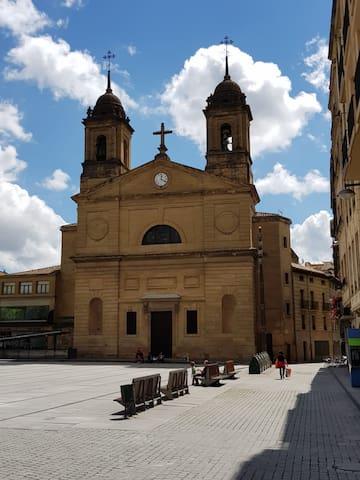 Aparatamento ubicado a 20m de la Plaza de los Fueros