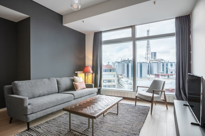 Cozy 1BR in Torun Center with Pool & Gym