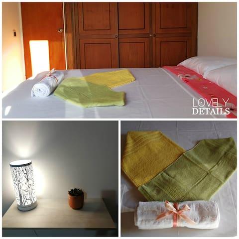 ♥ SWEET HOME Laureles: Room 4 with shared bathroom