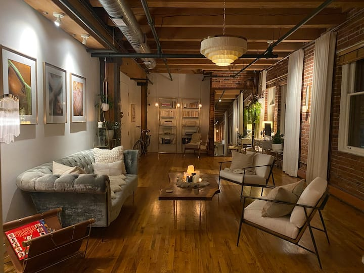Stunning Historic Downtown Loft