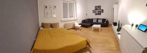 Appartement spacieux, propre et calme