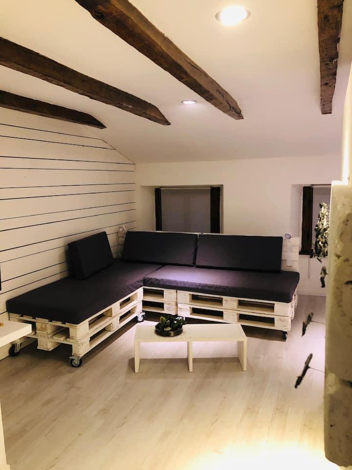 """La mansarda dei """"ribaltavapori""""- Apartment Design"""