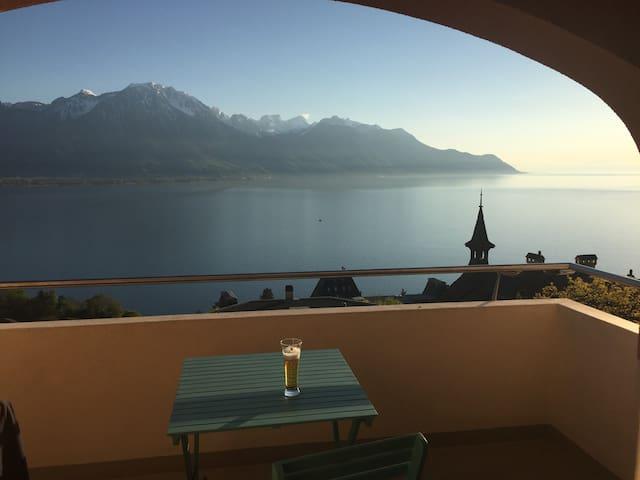 Montreux avec vue exceptionnelle sur le lac