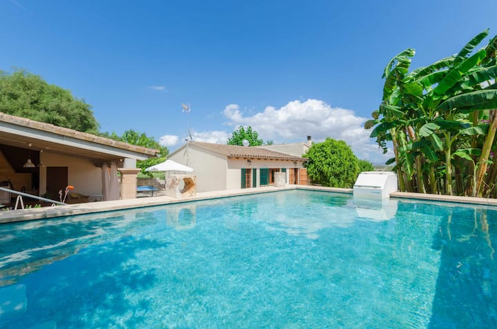 YourHouse Alcudiola, country house with pool for 6 guests in Majorca North
