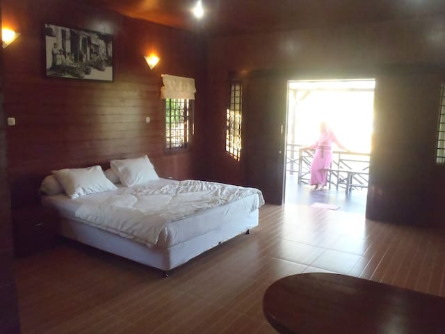 room in one of the villas