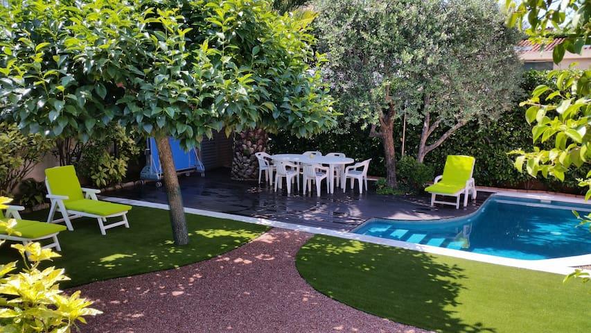 Casa amb jardí a l'Ametlla, a 30 min de Barcelona - L'Ametlla del Vallès - Huis