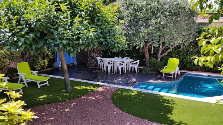 Casa amb jardí a l'Ametlla, a 30 min de Barcelona