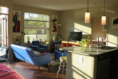 Modern 1 Bedroom Cheerful Apt in Downtown Decatur - Decatur