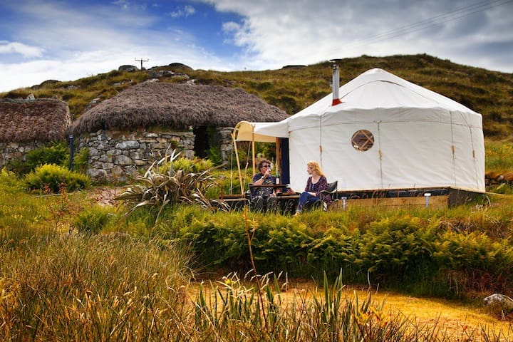Lickisto Blackhouse Yurts - Isle of Harris - Jurta