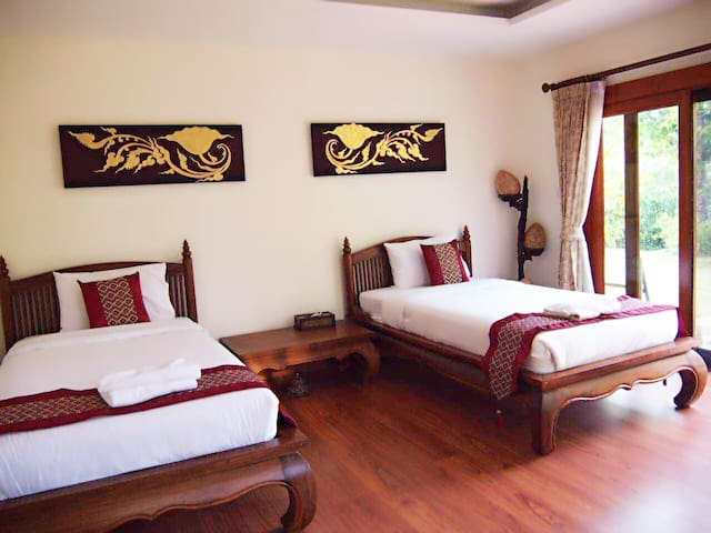 twin room of pool villa - Chiangmai