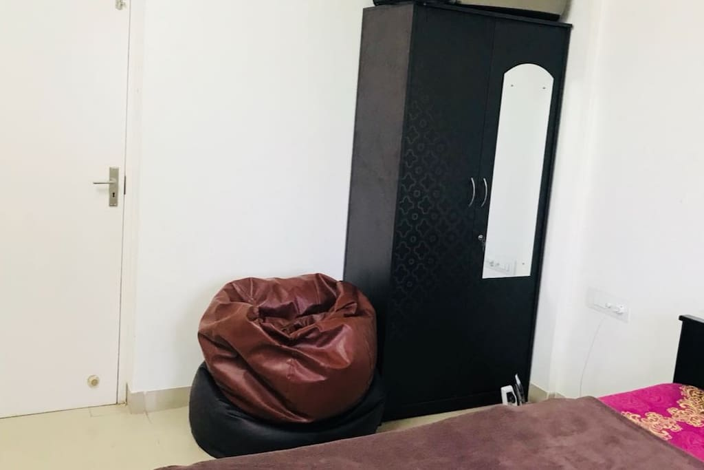 storage and bean bags