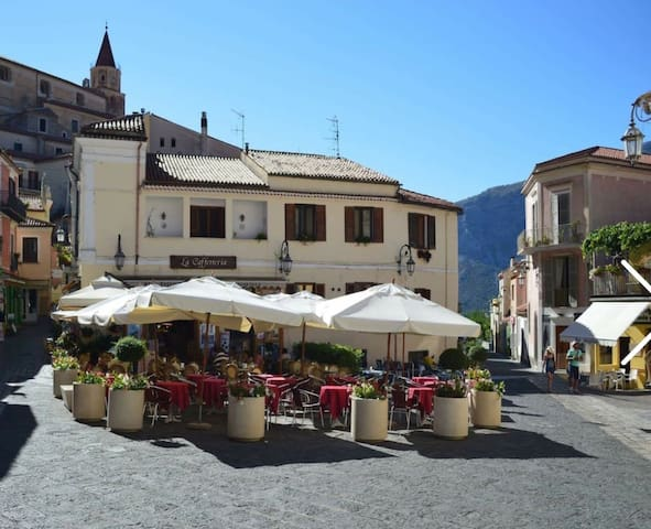 Romantic Room in the Maratea Square