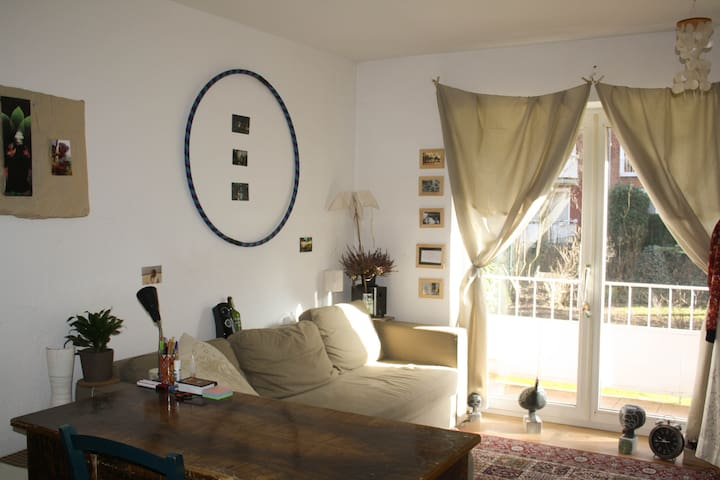 Gemütliche kleine Wohnung in Toplage - Hamburg - Apartament