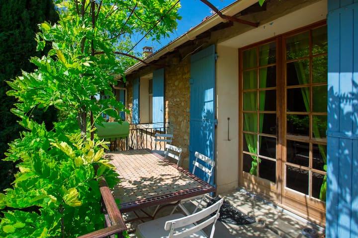 Grand appartement avec terrasse - Malemort-du-Comtat  - House