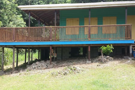 GREEN MONKEY COTTAGE Ocean View & Jungle Retreat - Foster Hall