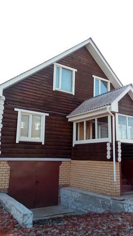 Двухэтажный коттедж со всеми удобствами