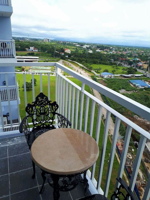 Balcony with a good view of nature