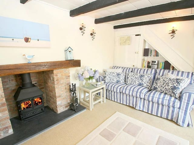 SEAGULL COTTAGE, pet friendly in Mevagissey, Ref 959110