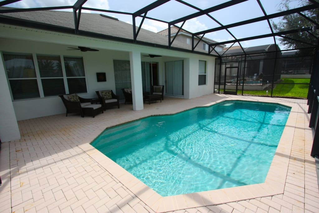 Enjoy this large pool right in your very own back yard!
