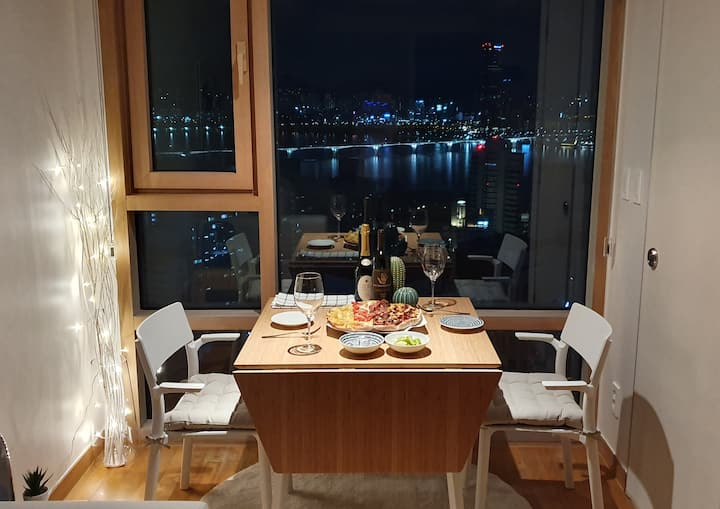 3. HH's house #Han river view #Mapo St. 1min #Cozy