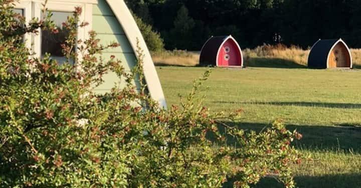 (6) Camping Pod near Lake